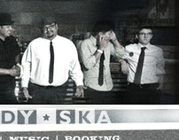 Web Design - Rocksteady Ska Band Site