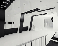 Contemporary dance hall area design project
