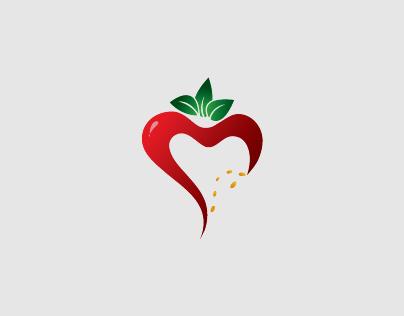 Logo Design - {Strawberry Curve}