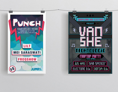 Event and Music Posters