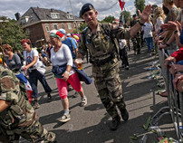 The Four Days Marches (Vierdaagse) Nijmegen