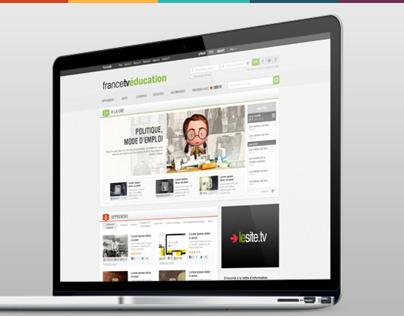 FranceTV Education - Web site