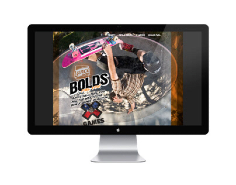 LANCE BOLDS microsite (ideation)
