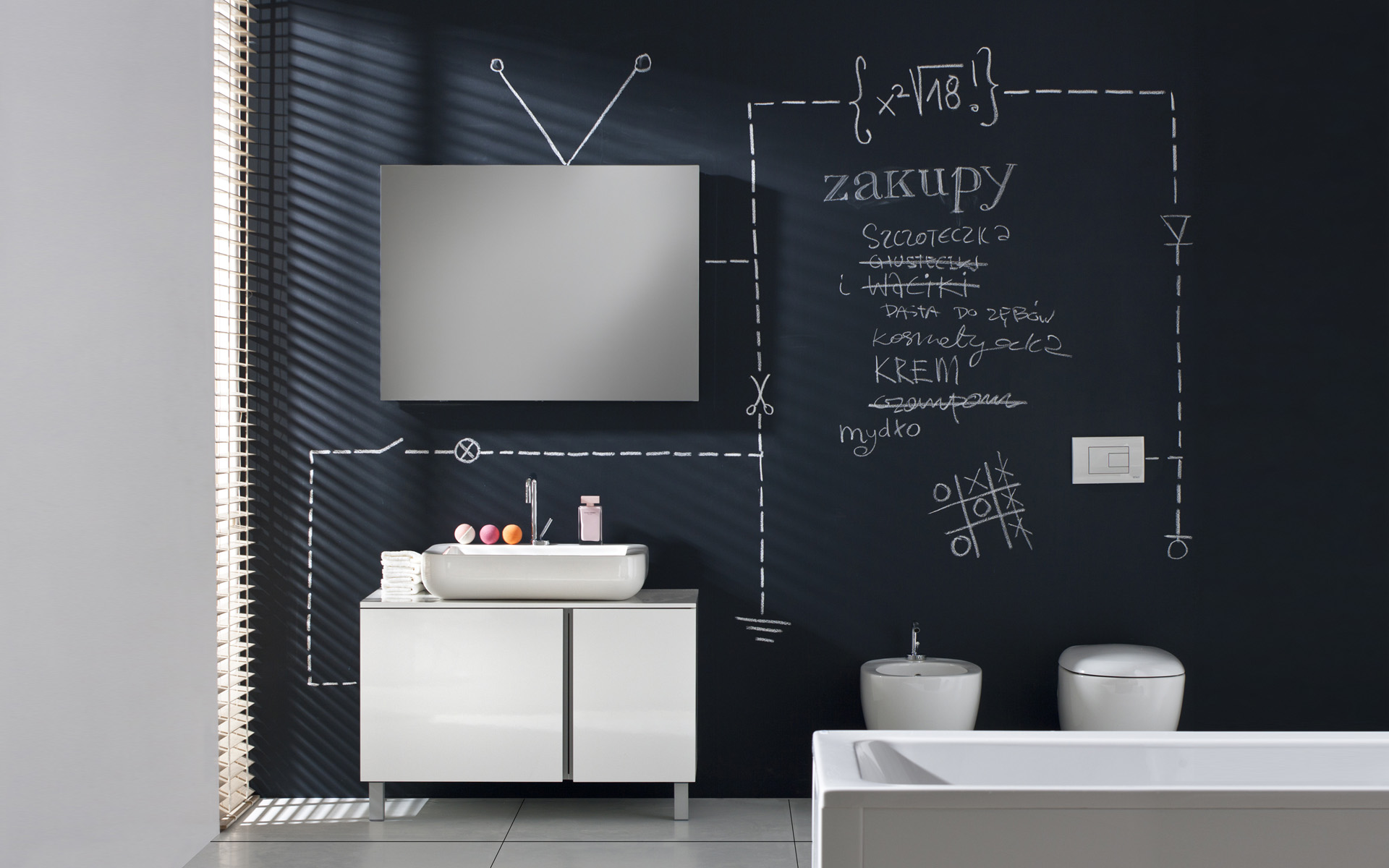 Kolo Sanitec Bathroom Furniture Set
