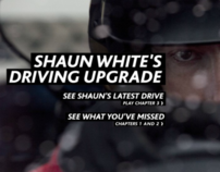 Shaun White's Driving Upgrade - BFG