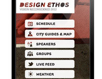 Design Ethos 2012 Mobile App