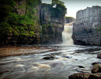 Waterfalls in North Yorkshire