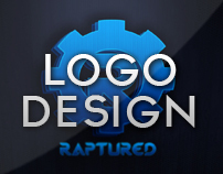 Logo Design - Raptured Media Logo