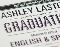 Ashleys Announcement