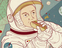Space & Hot Dogs
