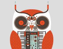 The Owl is a DJ