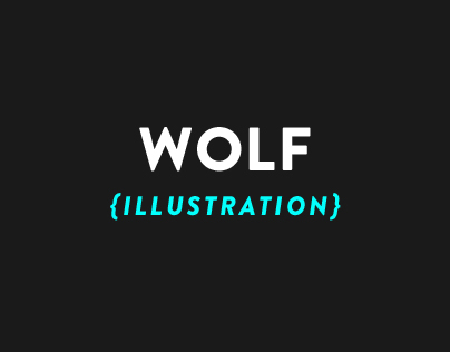 Wolf Illustration.
