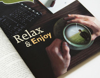 Tranquility: Relax and Enjoy - Advertisement series