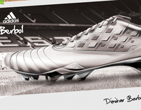 adidas Berbo1 football concept shoe