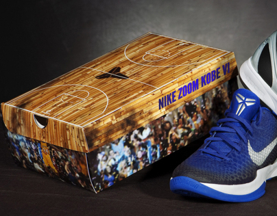 Zoom Kobe VI shoe box