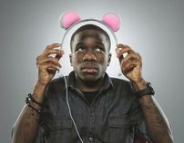 Tinchy Stryder/Goji Headphones Launch Campaign