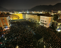 The visual identity of Festival del film Locarno