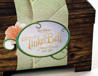 Special Edition DVD Packaging for Disney's TinkerBell