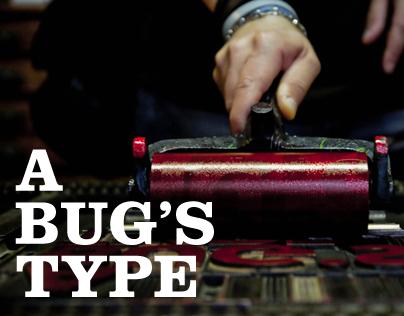 A Bugs Type - Stampa a caratteri nomadi