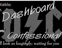 Art Work- Dashboard Confessional Poster