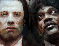 Vincent Vega &  Jules Winnfield in Pulp Fiction