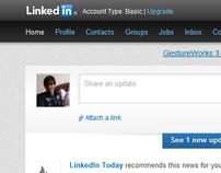 LinkedIn New Design, 2012