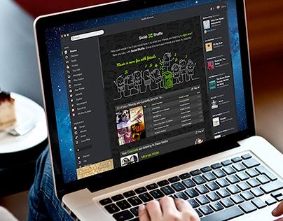 Spotify App: Social Shuffle