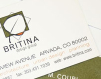 Britina Identity and Web Redesign