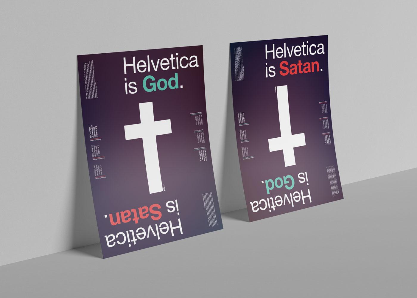 Helvetica is God/Satan