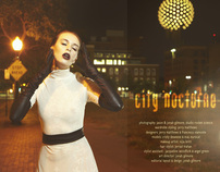 City Nocturne Fashion Editorial