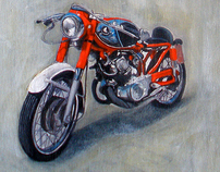 Commissioned Car/Motorcycle Painting