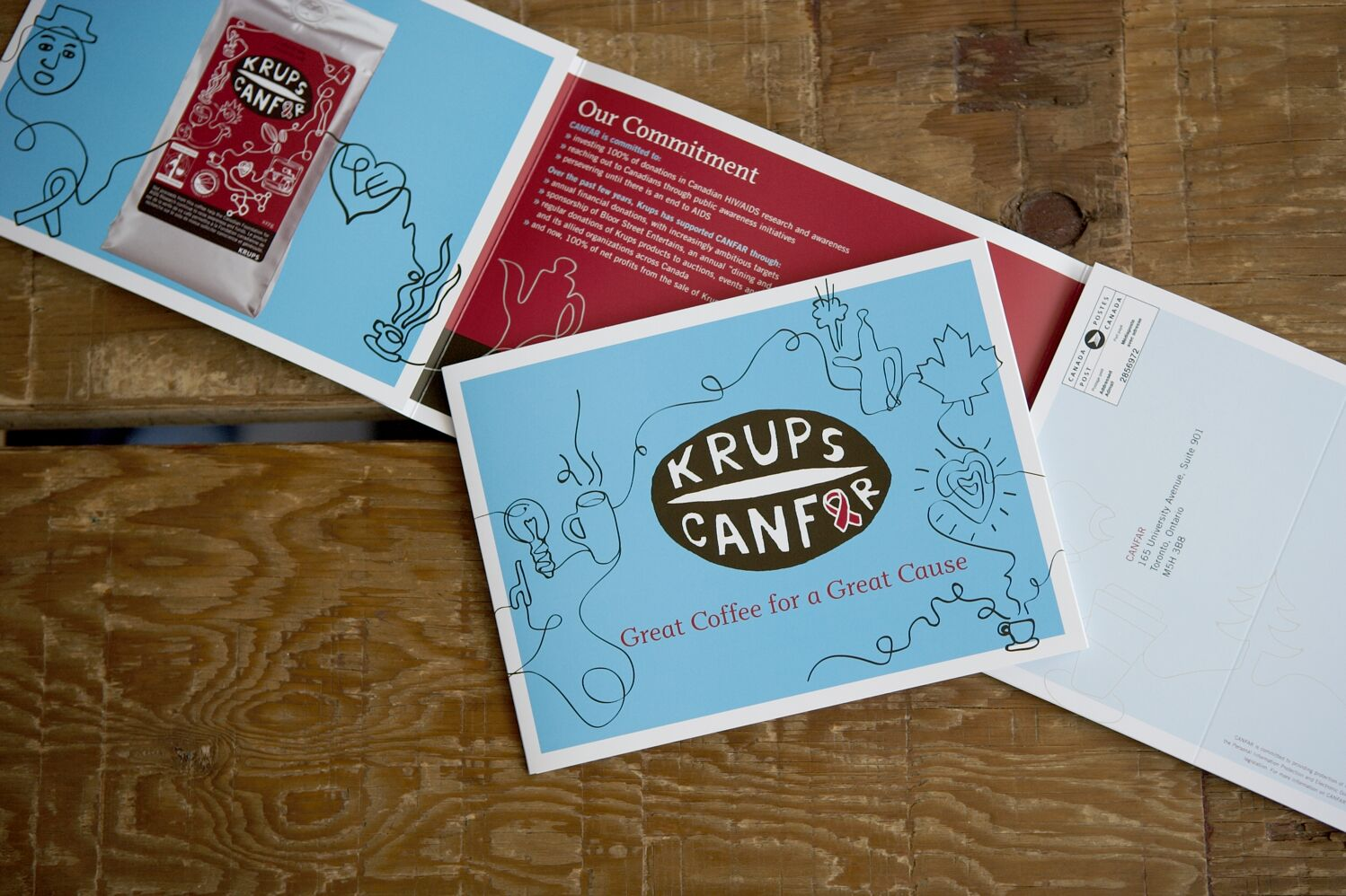 Krups / Canfar campaign with Viva Dolan