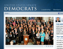 U.S. Senate Democrats Website