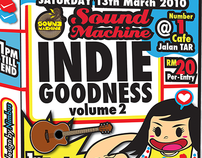 SoundMachine INDIE GOODNESS Volume 2
