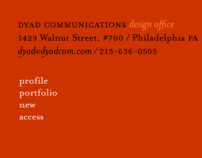 Dyad Communications, design office