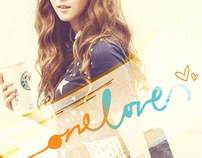 "On My Own: Spec Ad and Logo for ""OneLove"""