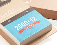 Kumon // 2000 + 12 Calendar (DESIGN)