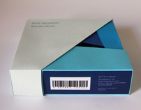 "Packaging of the cd ""Aquaculture"" by Jana Winderen"