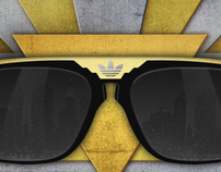 Adidas Art Decó Sunglasses
