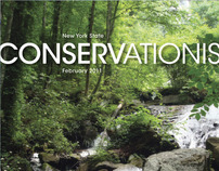 conservation magazine re-design