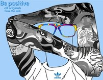 Adidas Eyewear 2012 Contest - Be positive