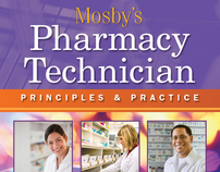 Book Cover/Interior Design: Mosbys Pharmacy Technician
