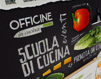 Officine in Cucina - Web interface Design
