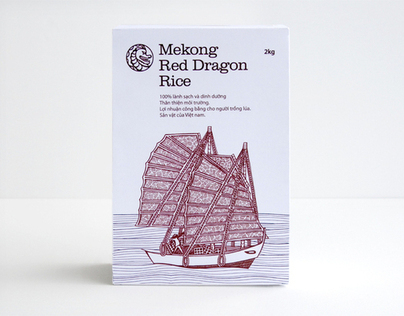 Mekong Red Dragon rice