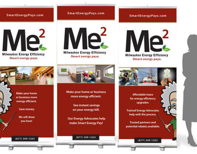 Me2 Milwaukee Energy Efficiency - Advertising Design