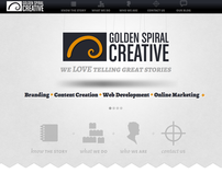 Golden Spiral Creative website