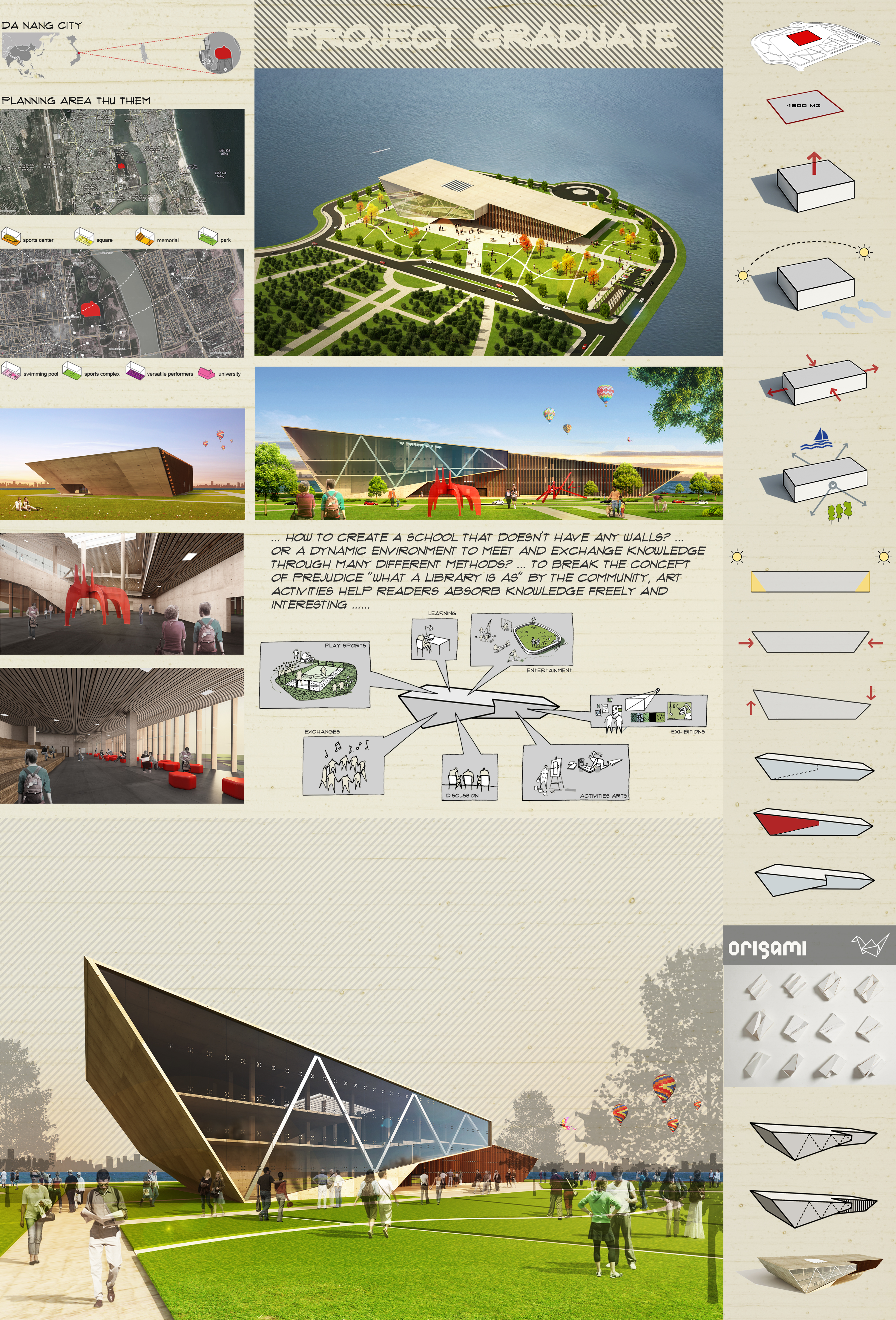 library project in Da Nang city