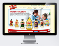 Frenchs Mustard Homepage and Landing Pages