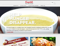 Campbells Corporate Website Redesign
