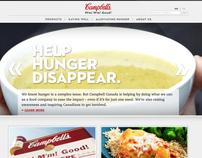 Campbells Corporate Website Redesign